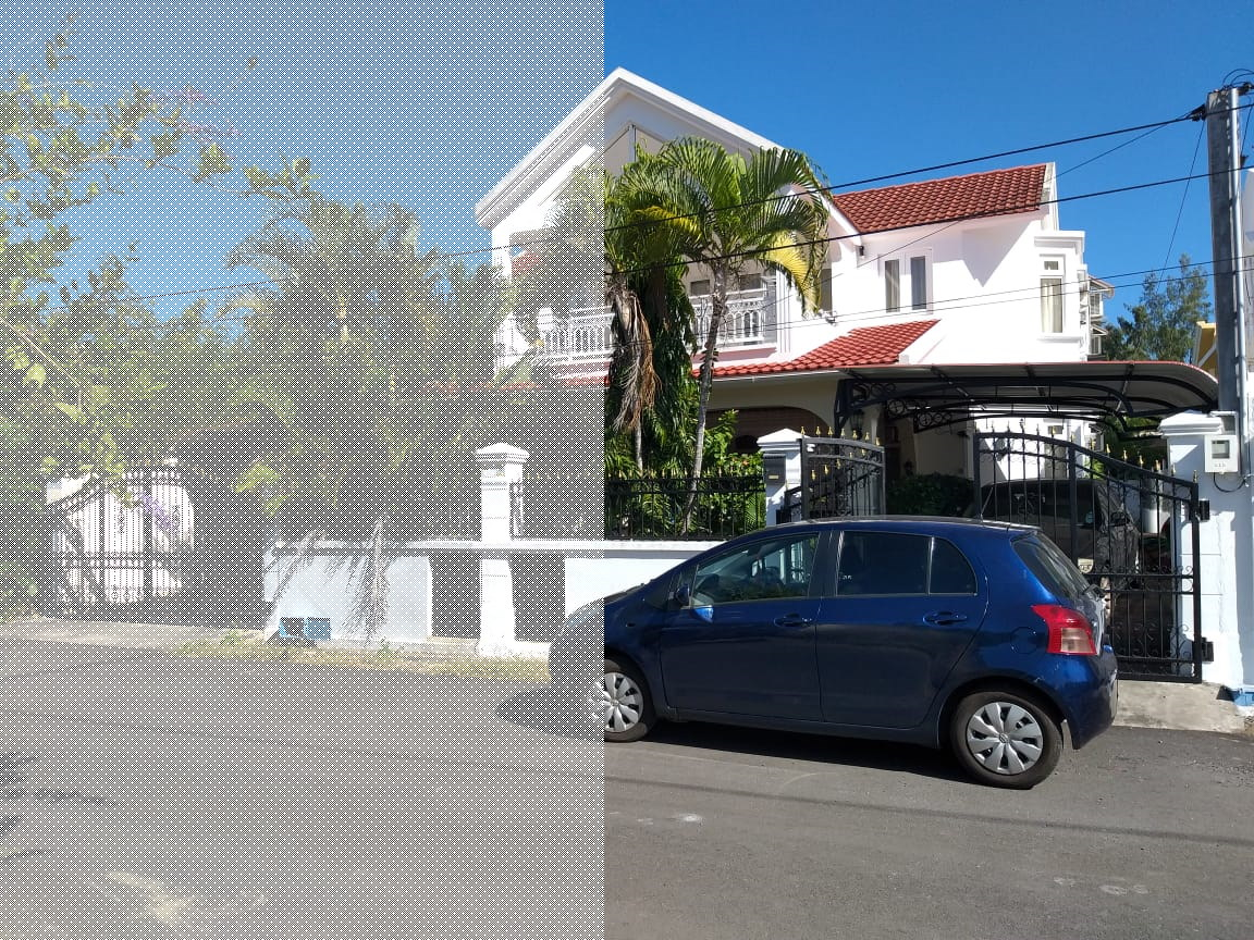 nice villa at Flic en Flac. A perfect place for your family.